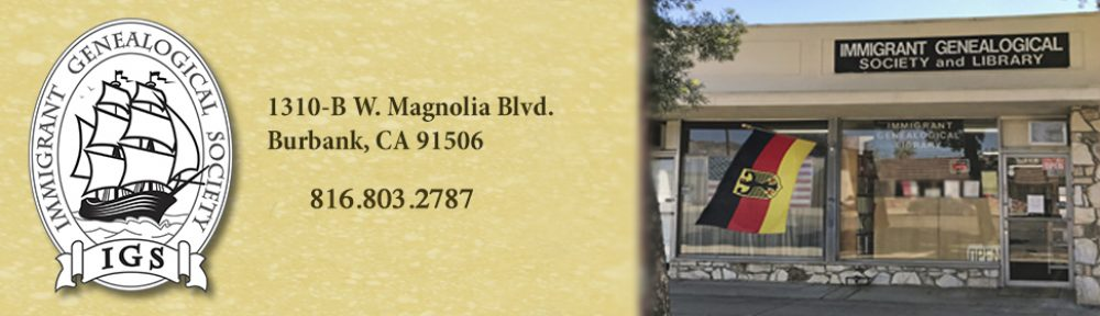 Immigrant Genealogical Society